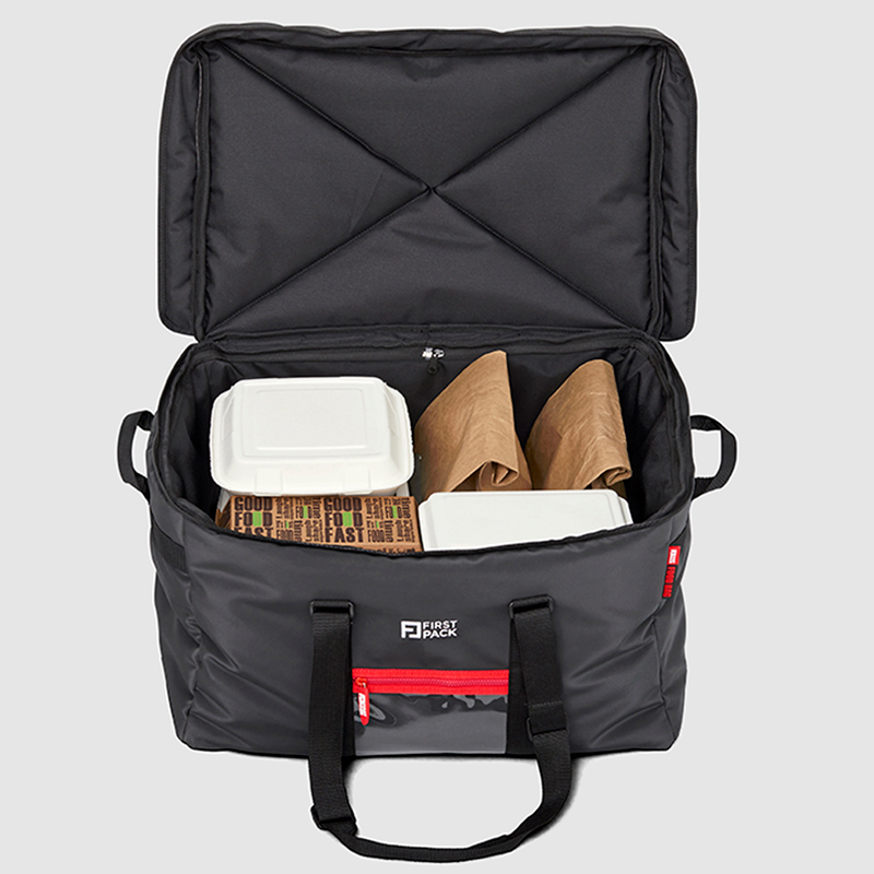 435876b9f2fa ... Food delivery bags for the job. Hot Bag - RIGHT VIEW  Hot Bag - WITH  PRODUCTS ...